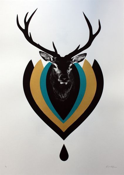 Stag Tattoo Idea