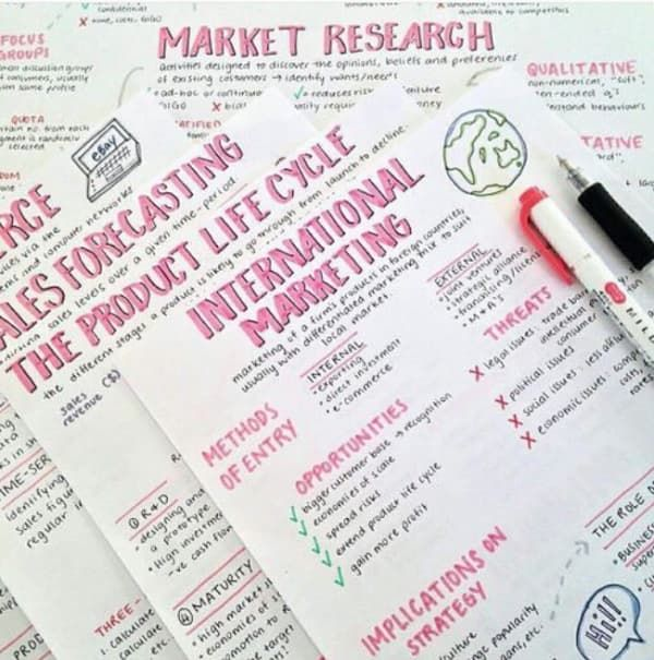 22 Study Notes Which Make Your Handwriting Look Li
