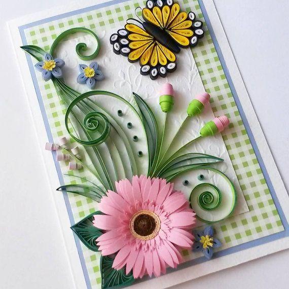 Beautiful Birthday Card - Mom Birthday Card - Birthday Card For Mom - Mother's Day Card - Card For Her - Girlfriend Card