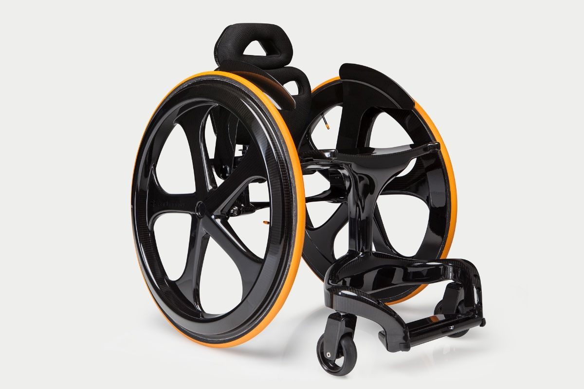 Carbon Fibre Wheelchair by Andrew Slorance - Composites