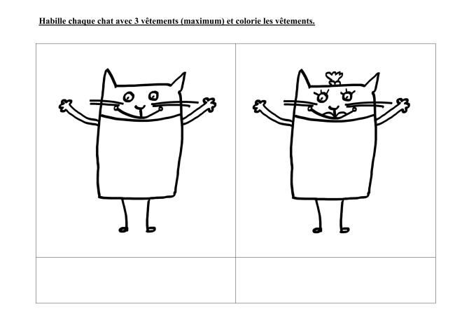 Les Vêtements Des Amis De Splat Le Chat