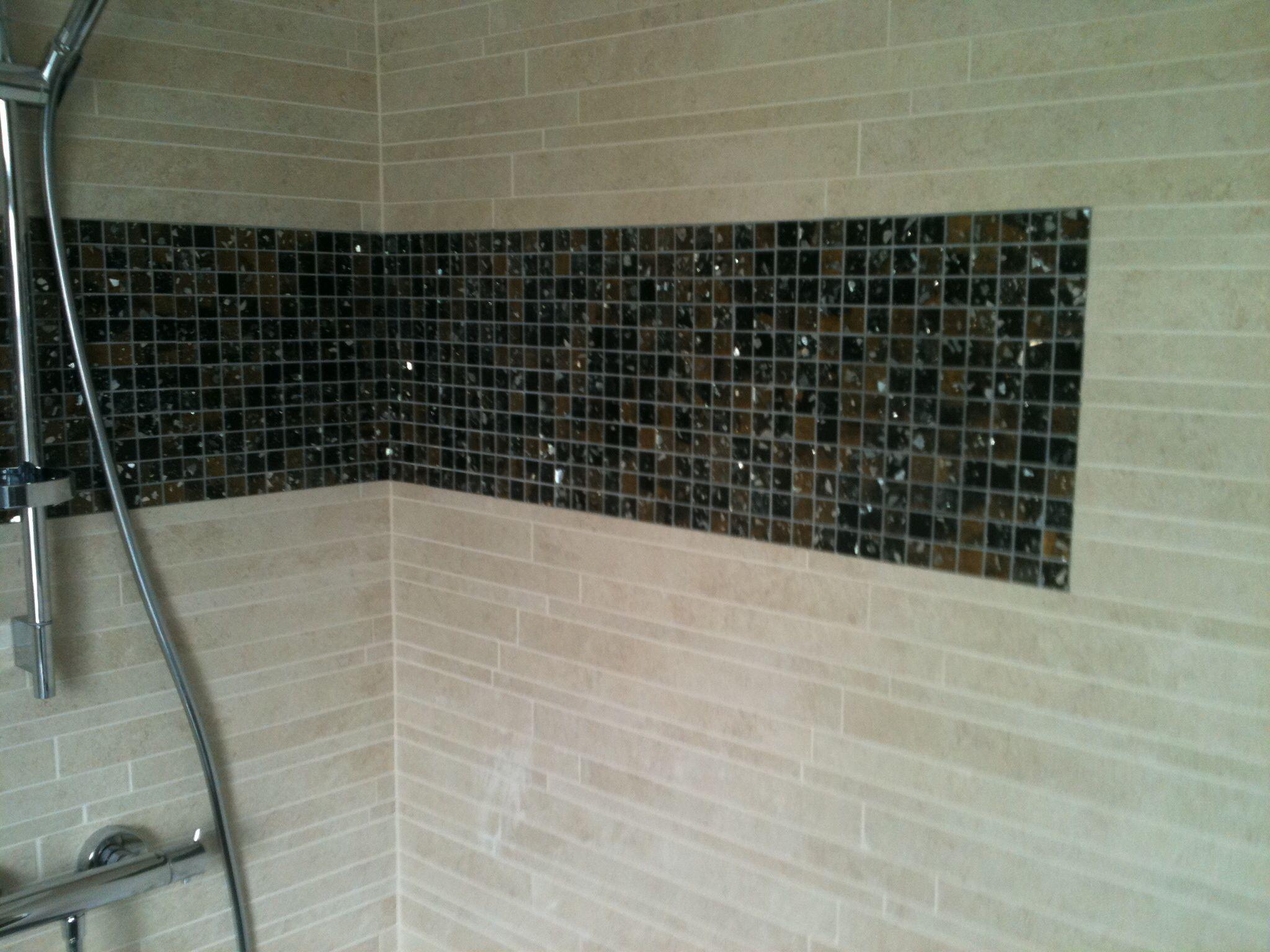 Mozaïek badkamer tegels unicom starker | Mozaïek | Pinterest