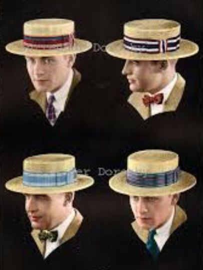 1920/'s Derby Style Costume Hat