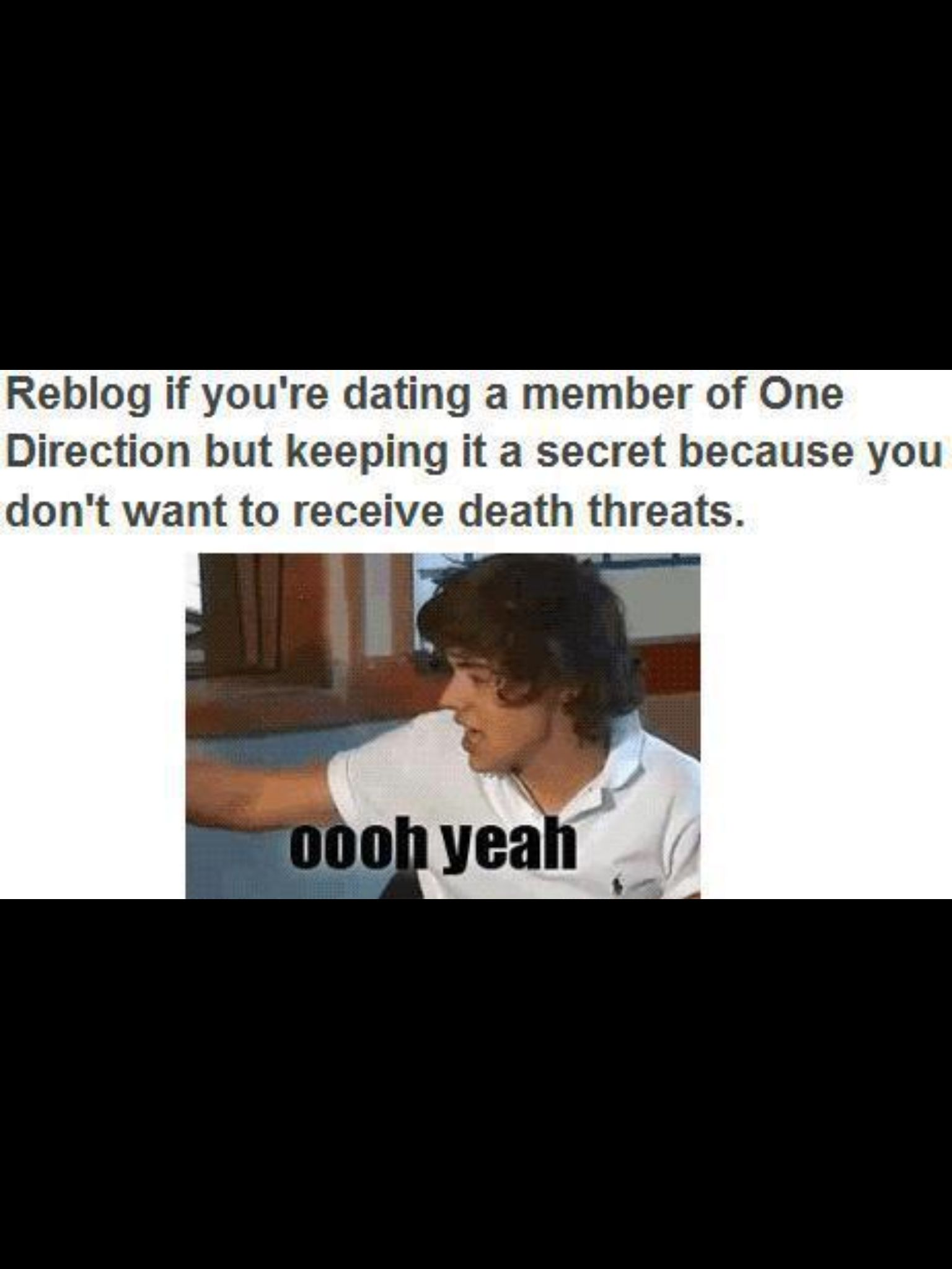 one direction imagines youre secretly dating