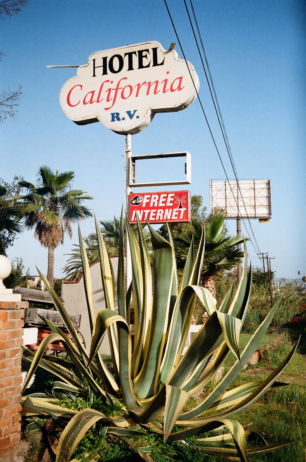 Hotel California You Can Check Out