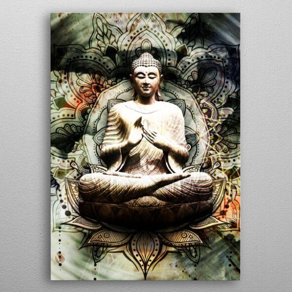 #epicbuddha #spiritual #espiritualidad chakras #universe #mantra | Displate thumbnail