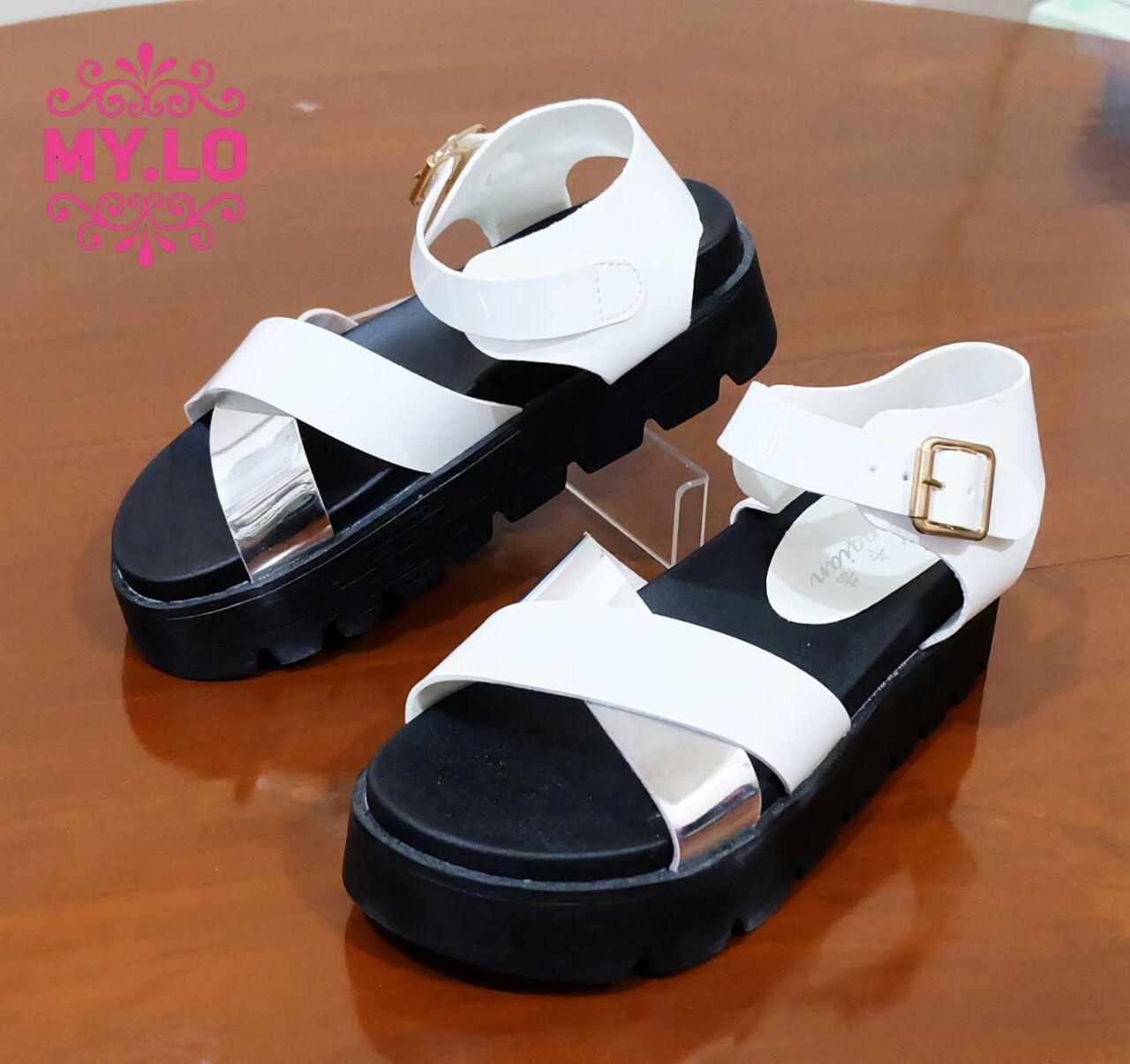 Kode Ms1296 Warna White Size 36 39 Harga 200rb Kualitas Import High Quality Pemesanna Via Sms N Wa 081558283656 Pin Bb Shoes Sandals Birkenstock