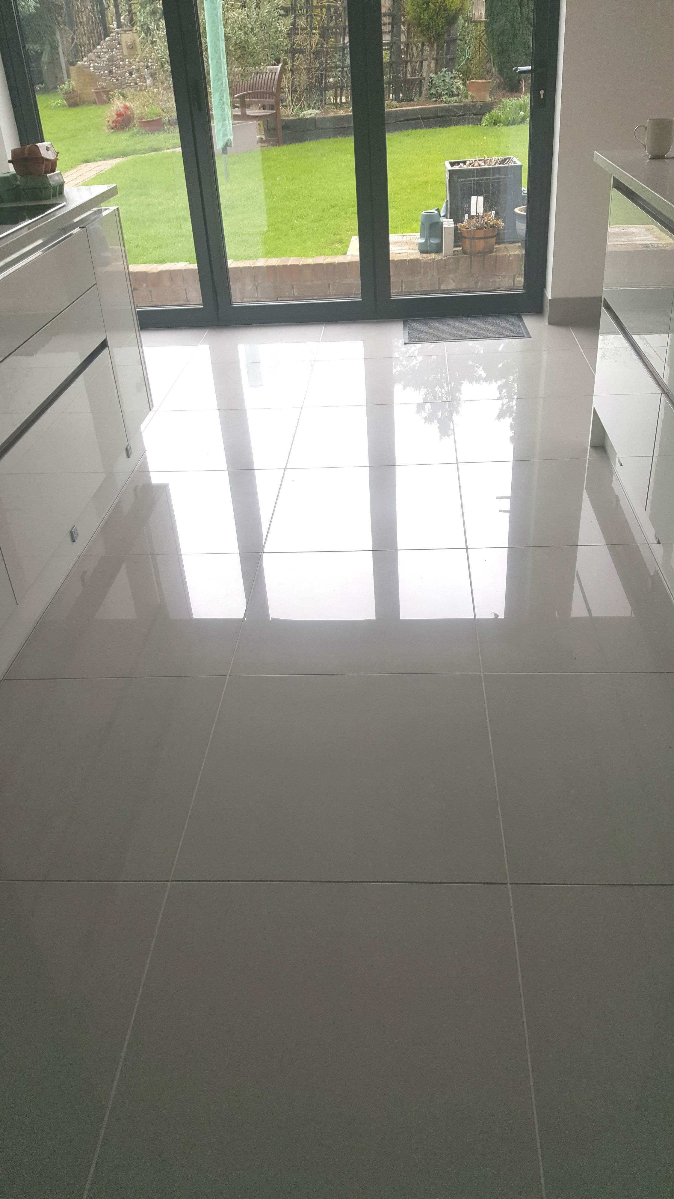 Wickes Arkeisa Gris Polished Porcelain Floor Tile 600x600mm
