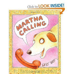 Martha Calling: Susan Meddaugh: 9780395827413: Amazon.com: Books
