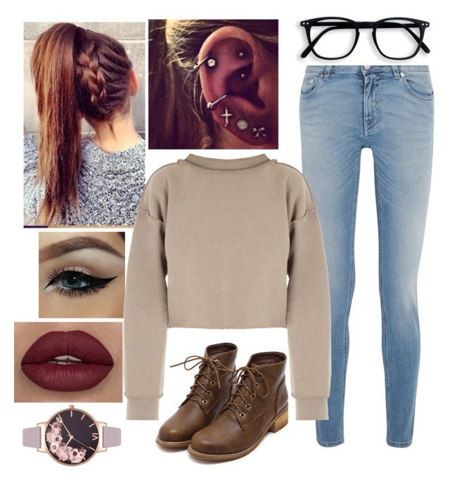 """""""Untitled #84"""" by tarisai1 ❤ liked on Polyvore featuring Givenchy, My Mum Made It and Olivia Burton"""