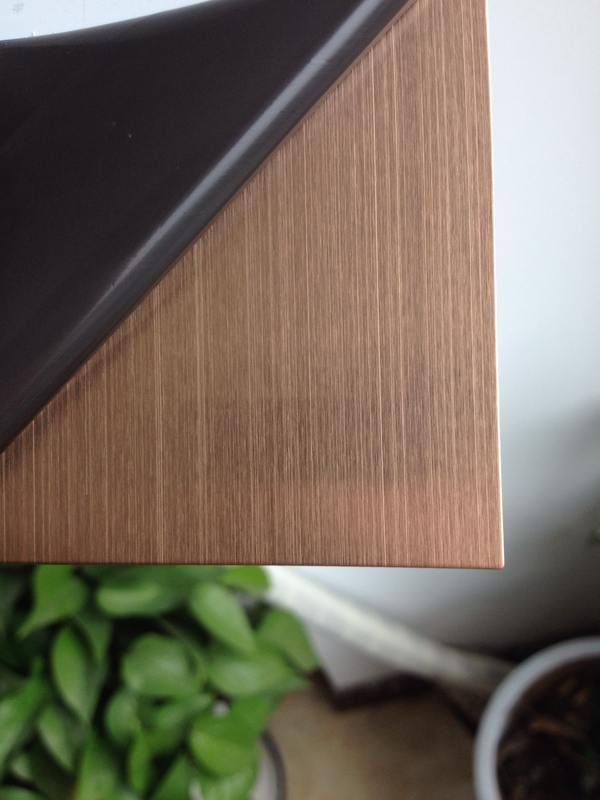 Rose Gold Hairline Stainless Steel Sheet Stainless Steel Sheet Steel Sheet Stainless Steel