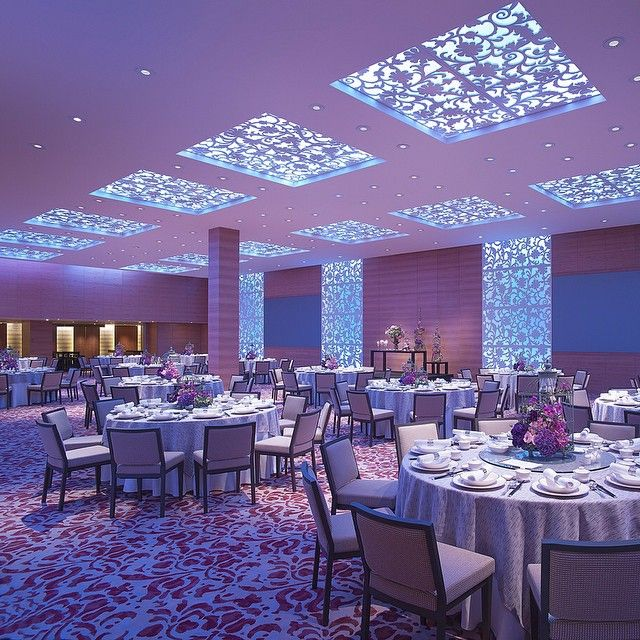A ballroom making a difference at @grandhyatt Singapore. Photo courtesy of SingaporeBrides.