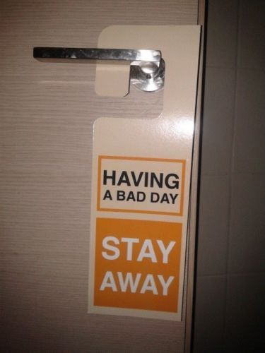 Do Not Disturb Sign Funny Door Knob Hanger Sign Extra Size X