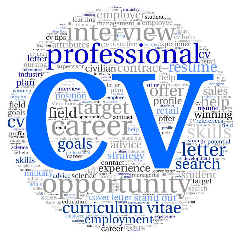 Cv writing service essex