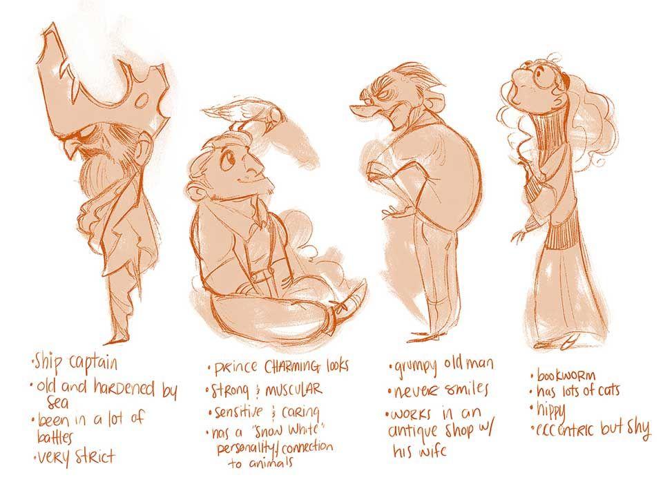 Fundamentals of Character Design - CGMA 2D Academy   Beth Hughes