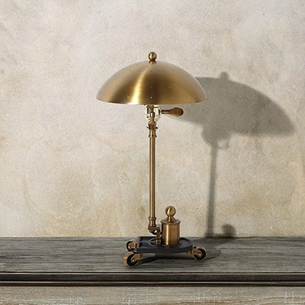 Franklin brass tilting task lamp arhaus furniture