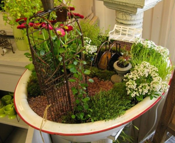 Mini Fairy Garden Ideasmodern Home Interior Design Fairy Garden
