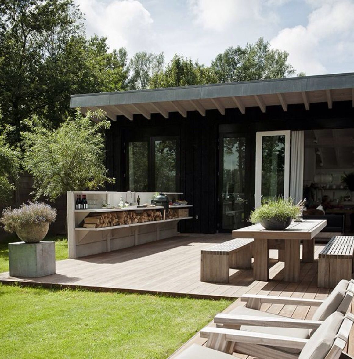 Amenagement Terrasse Fauteuil Bbq Area Projects To Try Pinterest Jardins Mobilier