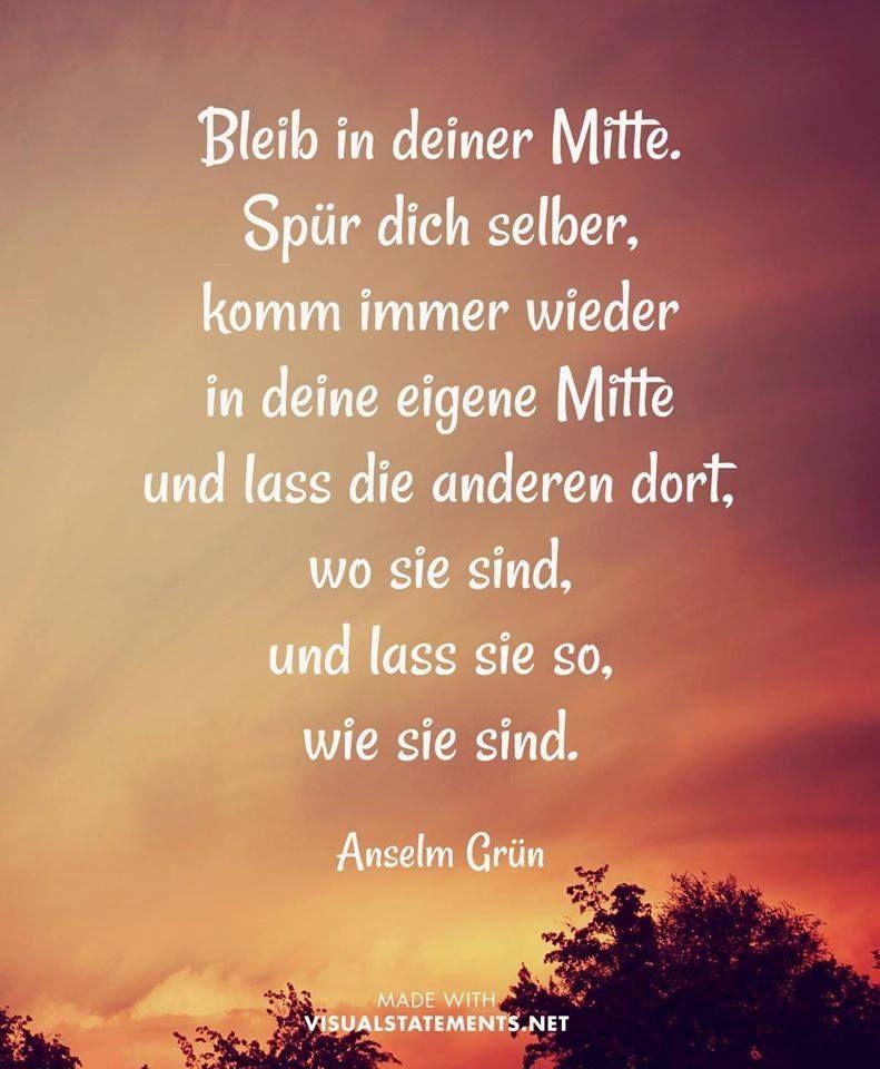 Pin von Werner Grunau auf Anselm Grün | Quotes, Words und Wise words
