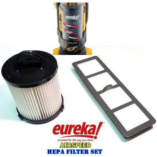 Eureka Airspeed Bagless Upright Hepa Filter Replacement Set