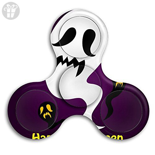 Cool Happy Halloween Ghost Cute Finger Tri Spinner Fid Toy For