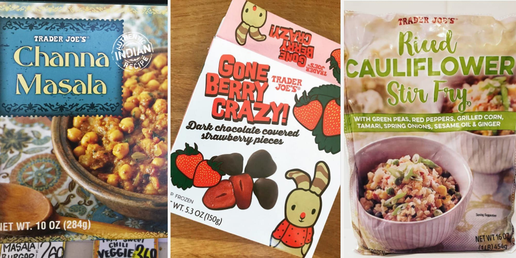 15 of the Healthiest Frozen Foods from Trader Joe's in