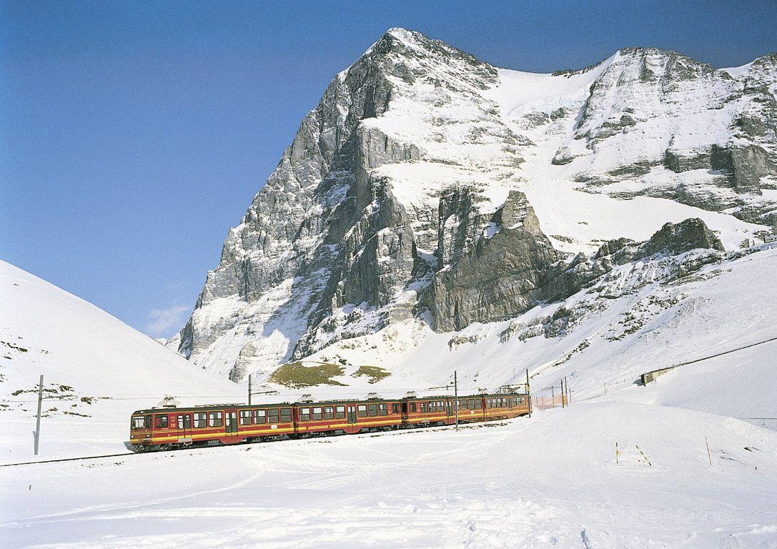 The Jungfrau Railway Is A Rack Which Runs 9 Kilometres From Kleine Scheidegg To Highest Station In Europe At Jungfraujoch 3454 M