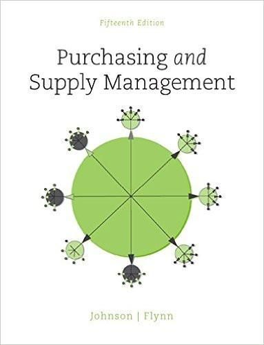 Purchasing and supply management 15th edition by p fraser johnson isbn 13 978 0078024092 ebookdownloadable pdf test bank and solution manual and paperback available for sale fandeluxe