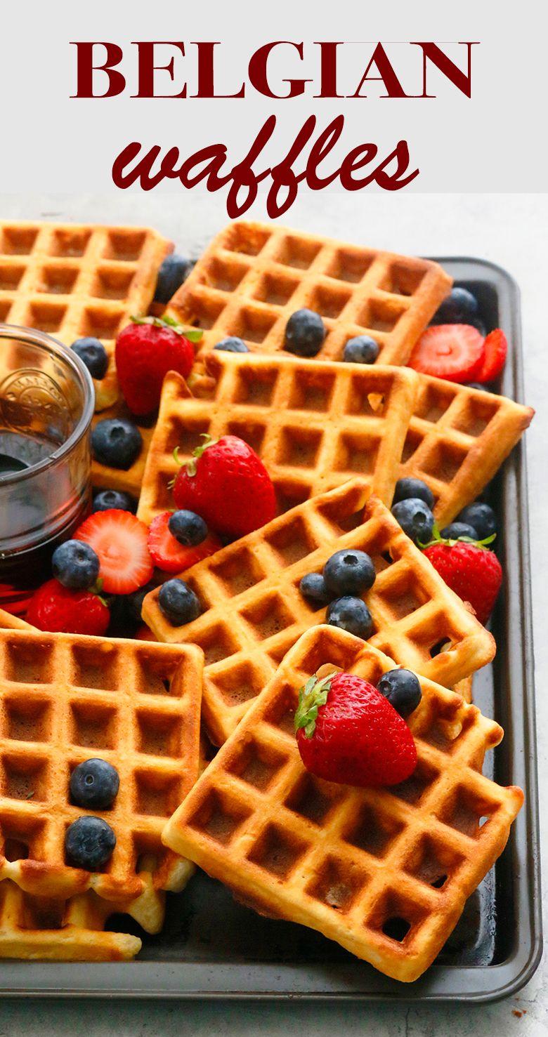 Best Belgian Waffles Recipe Kitchen Hoskins Recipe Waffle Recipes Best Belgian Waffle Recipe Belgian Waffles Recipe