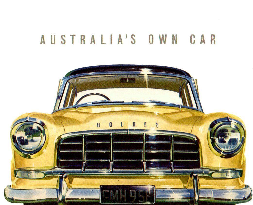 An Original 1950\'s sales brochure for Holden FC passanger range ...