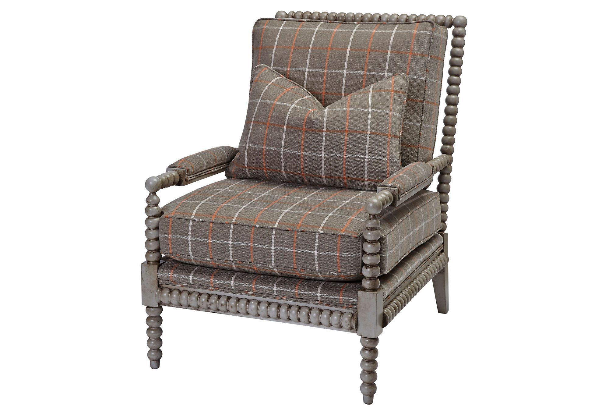 Helen spindle chair mangogray chair spindle chair