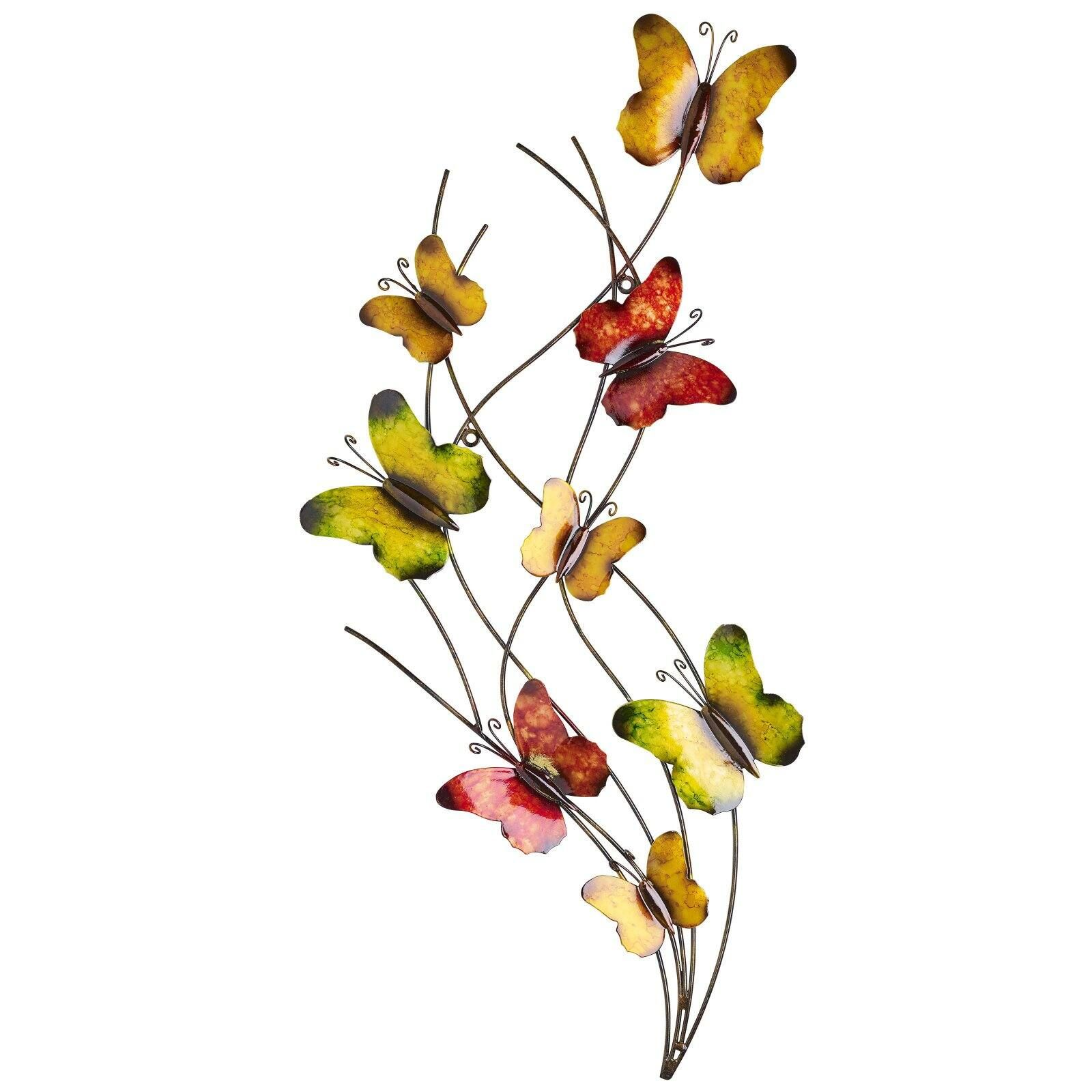 Southern Patio Butterfly Swarm Outdoor Wall Decor