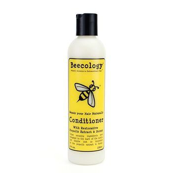 Beecology Repair Your Hair Naturally Conditioner: A daily conditioner infused with rejuvenating, natural moisturizers.