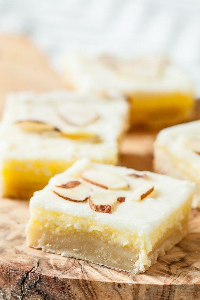 Award Winning Almond Dessert Bars - Chew Out Loud
