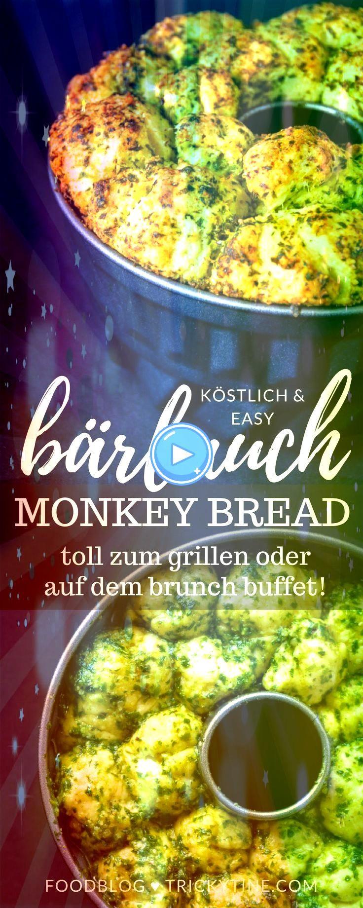 Monkey Bread Und zwar in herzhaft mit Bärlauch Pesto Affenbrot Monkey Bread Und zwar in herzhaft mit Bärlauch Pesto Affenbrot Monkey Bread Und zwar in herzhaft...