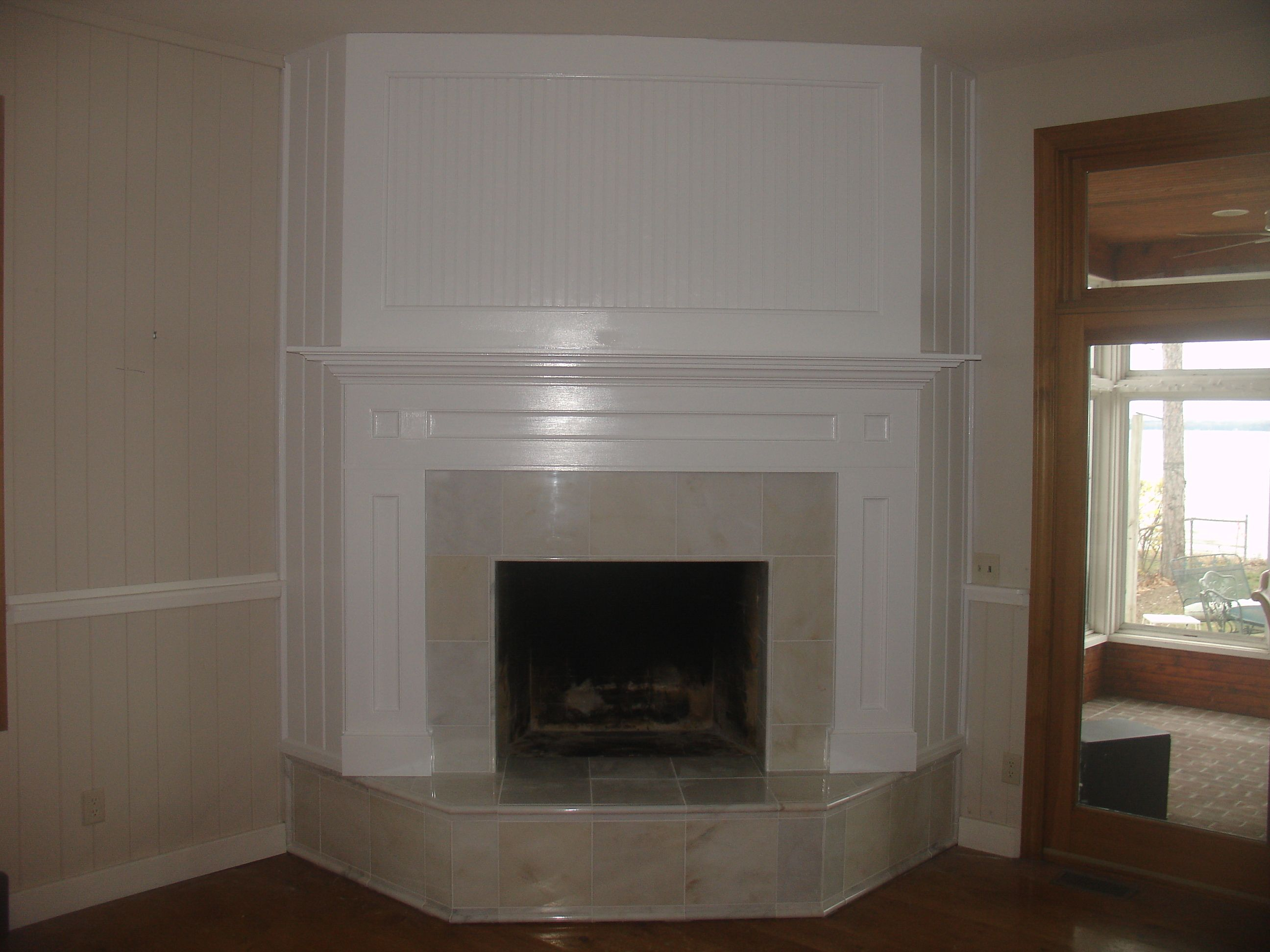 Fireplace Conversion Craven Construction After Field Stone To