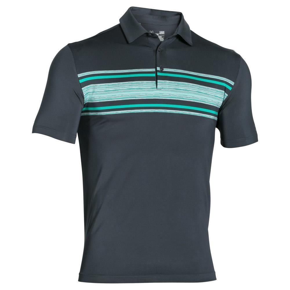 94181b53 Under Armour Mens HeatGear Playoff Golf Polo Shirt 2XL Gray Green  1253479-012 #Underarmour #ShirtsTops