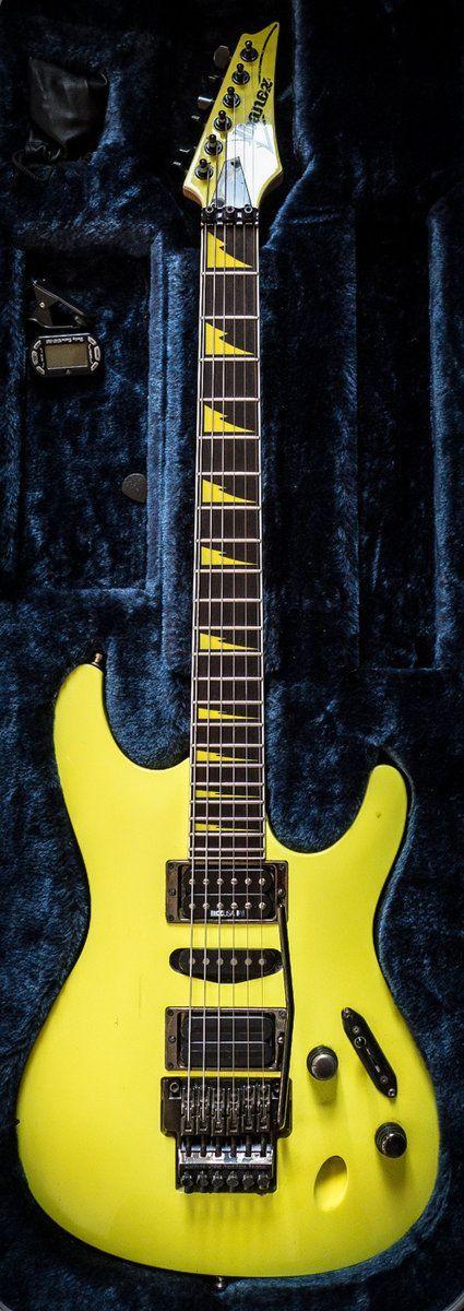 Ibanez Fgm100 In Desert Yellow Ibanezguitars 80s Style Shred