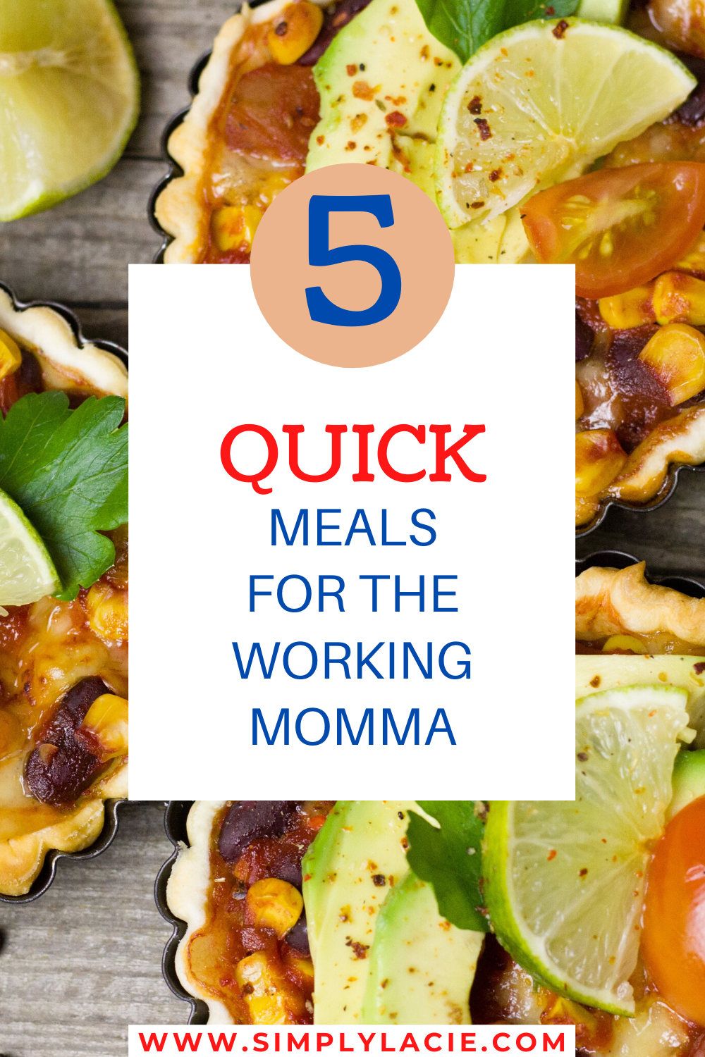 Here is a list of five of my quick go-to weekday meals. #quickmeals #workingmomma #motherhood #goodeats #dinner #familydinner #cooking #momlife
