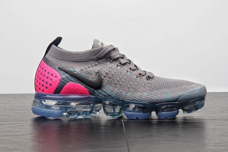 wholesale dealer 87179 f4bcd Legit Cheap Womens Nike Air Max Vapormax Flyknit 2.0 942843-004 Gunsmoke  Blue Orbit-Pink Blast Hot Sale