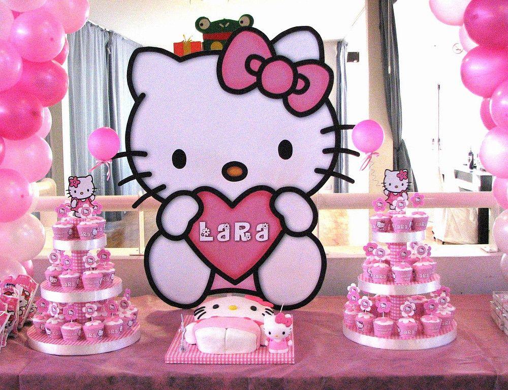 Hello Kitty Birthday Kitty para Emilia Pink hello kitty