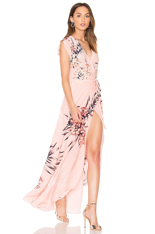Yumi Kim Swept Away Maxi Dress In Tropical Tonic Revolve Dresses