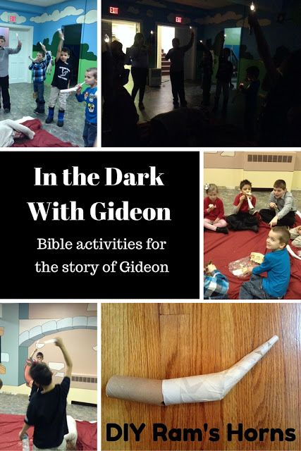 Interactive Bible lesson for the story of Gideon and the Midianites ...