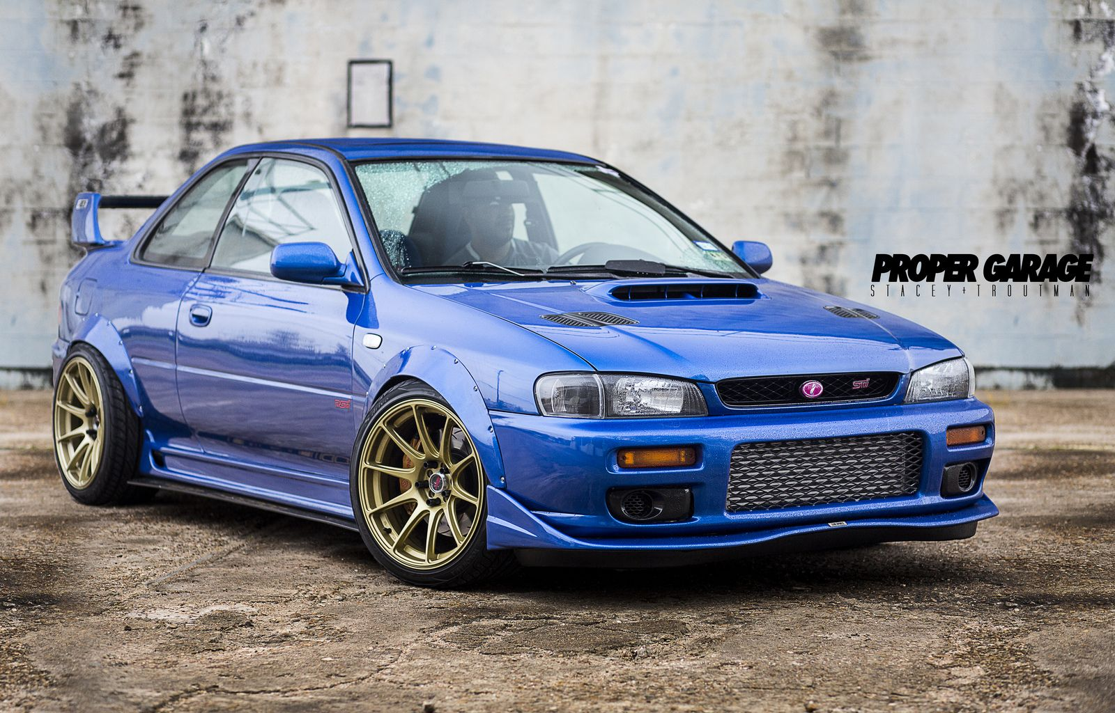 Won T Be Seeing This In Your Rearview Might Catch The Taillights Though When It Blows By Subaru Subaru Impreza Subaru Impreza Sti
