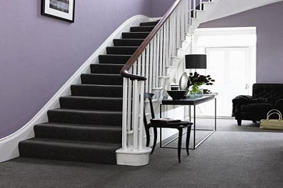 Best Carpeted Stair Landing Google Search Grey Hallway 400 x 300