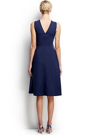 Women's Ponté A-line Dress