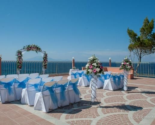 Zante Ocean View Wedding