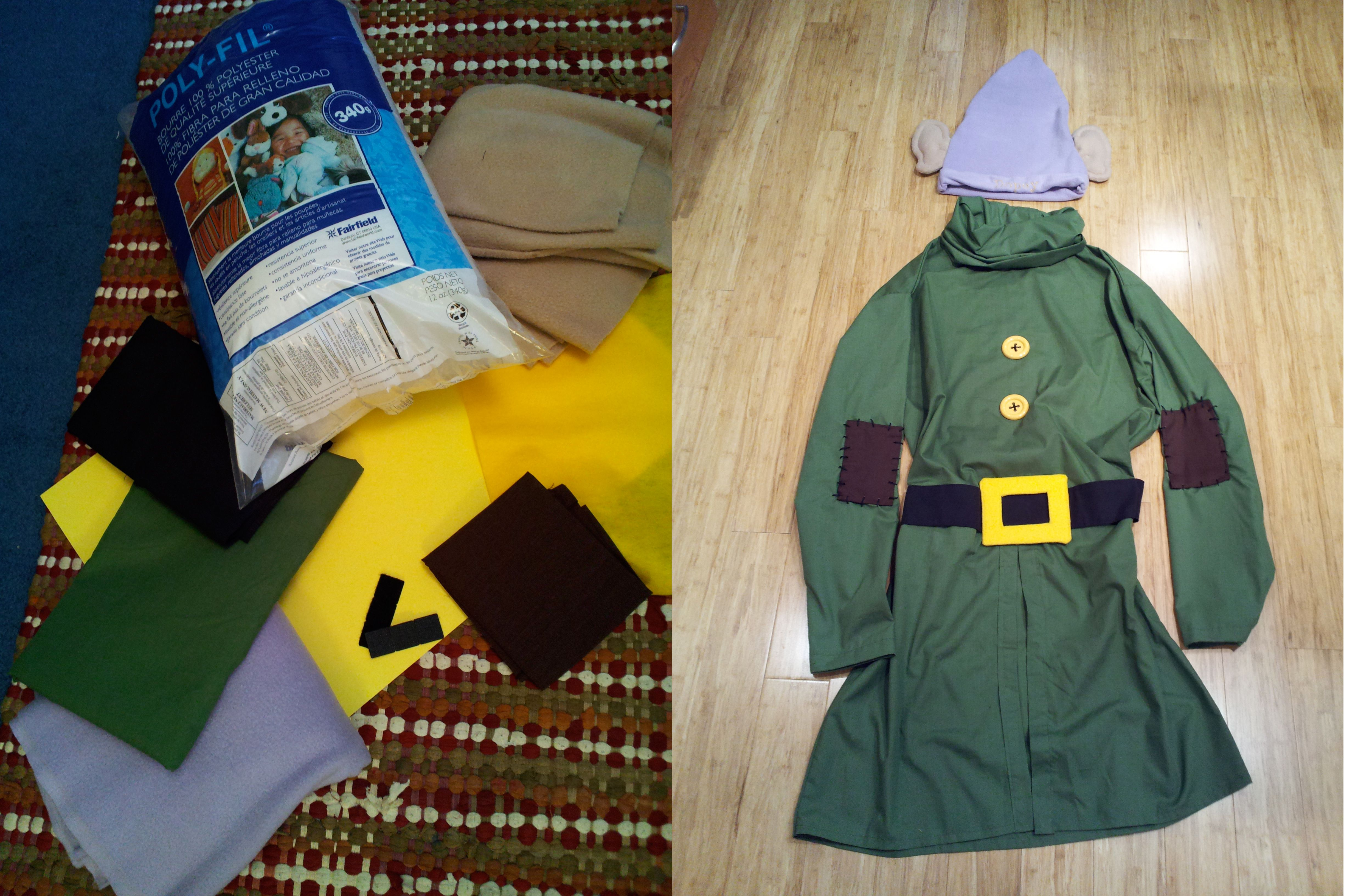 Adult Dopey costume I made 2012 - Kristine & Adult Dopey costume I made 2012 - Kristine | For the kids ...
