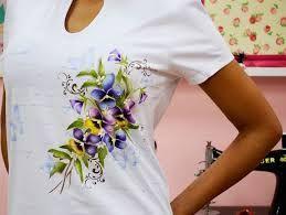 Resultado De Imagen De Pintura Em Camisetas Passo A Passo Painted Clothes Painted Leather Jacket T Shirt Painting