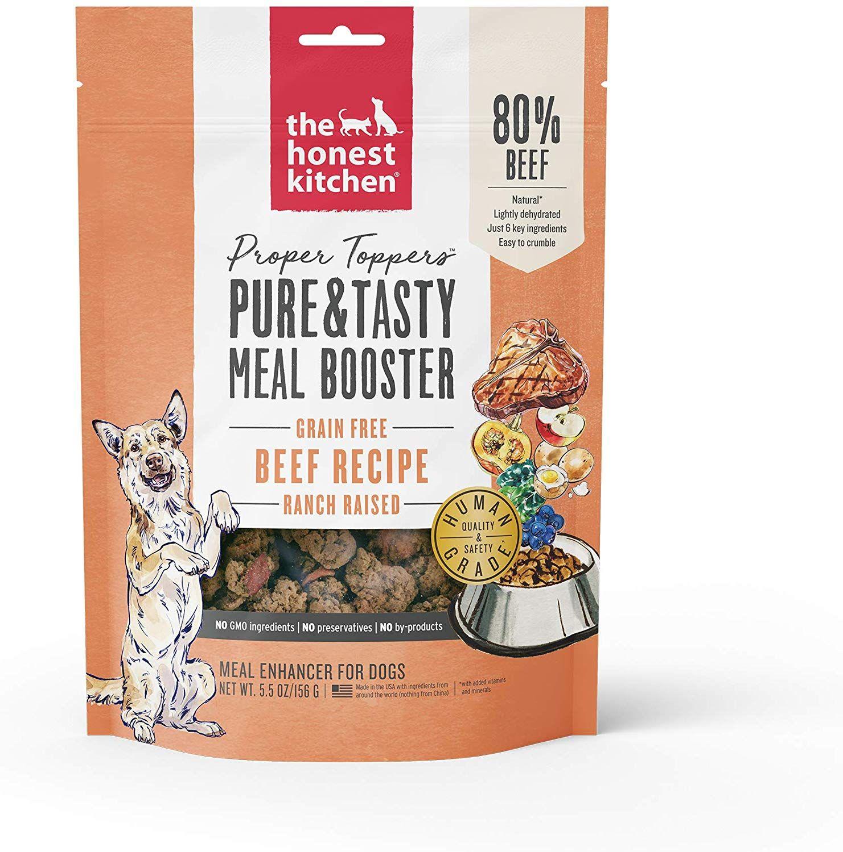 Honest Kitchen Proper Toppers Natural Human Grade
